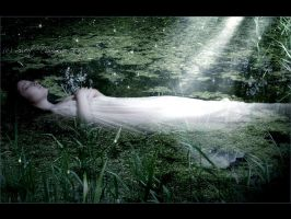 Rest in water-lily by MySweetDarkness