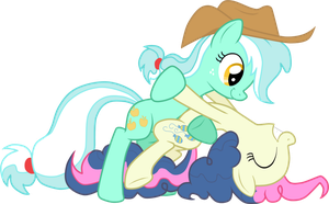 LyraJack and BonPie by StupidLittleCreature