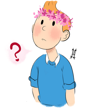 give him a flower crown by sassquire