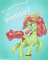Friendship is RADICAL by cadet-of-the-dead
