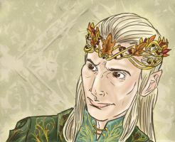Thranduil? by Phantom-Jaselin