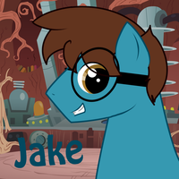 Jake the Pony by Panda-child