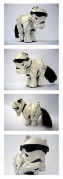 My Little Stormtrooper by Spippo