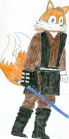 Tails as Sith Anakin by RFHartwell