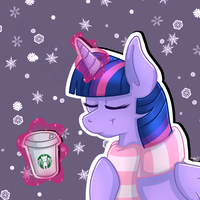 Wintery Twilight Icon by LaydeeKaze