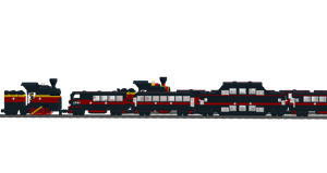 Lego Trains: Express Trains 4 by Shadow20X6