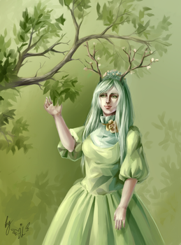 Forest princess by Alisthecat