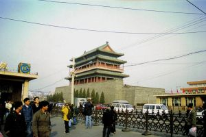 Around Tiananmen Square by woodfaery