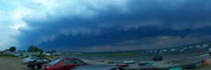 Storm At Pine Point by Pappaprime