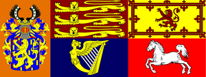 Britannic Royal Standard by lamnay