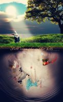 Fell Down The Rabbit Hole v.2 by Gnisten09