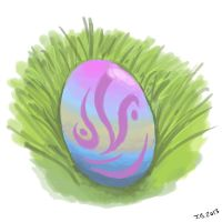 Here's an egg! by JunBowman