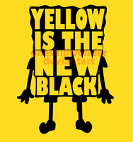 Yellow is the new black by oneskillwonder