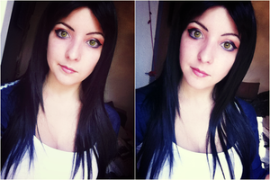 Alice: Madness Returns make-up test by Dragunova-Cosplay