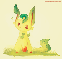 Leafeon by Endber