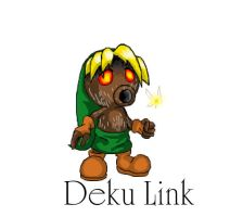 Deku Link on iscribble :3 by Super-Sonic-101