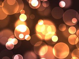 Warm Bokeh Stock by contractcat