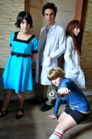 Steins Gate Group Cosplay by DEATHNOTE---L