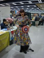 Comic Dress by Lillagon