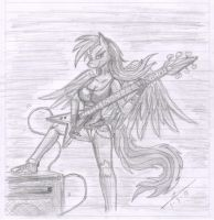 Power metal rainbow by metalfoxxx