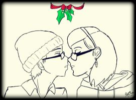 All I Want for Christmas is You by kittykinetic