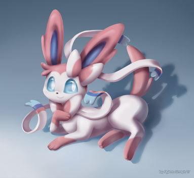 Sylveon by Alin-the-Dog