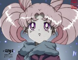 chibiusa colored by reijr
