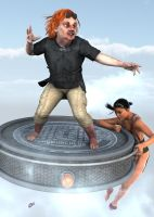 Homunculus and the Flying Disc by storypilot