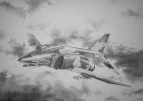 F-4 Phantom by Skvor