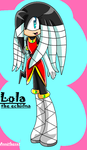 Lola the echidna by Annithecat