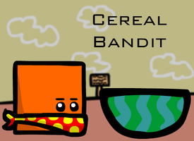 Cereal Bandit by AceDecade