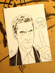 Listen to the Doctor Warm-Up Sketch by HeroFromMars