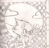 5th Project for art class by Tailmouth-Cupcake