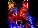 ~~~Glowing wolf~~~ by FluffyFaithy