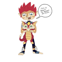 Lion-o PnF style by Juddlesart