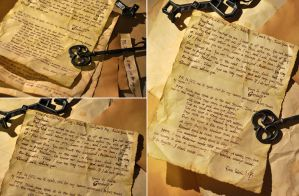 Gandalf's Letter to Frodo by Norloth