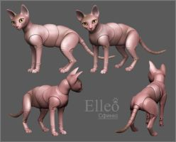 sphinx by leo3dmodels