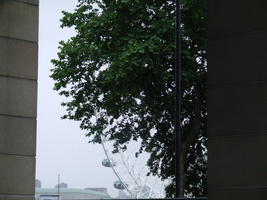 A Glimpse Of The London Eye by Just--Saying