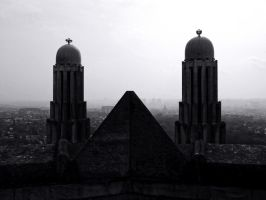 Two Towers by Smaragd01