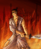 Samurai Jack by Arabesque91