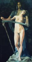** SURRENDER ** - oil painting by AstridBruning