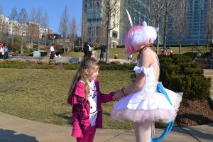 Little Princess Tutu Fan meets Princess Tutu by HatterSisters