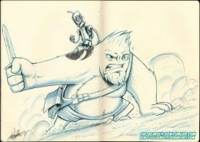 Moleskine: Unlikely heroes by Ben-G-Geldenhuys