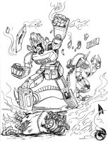 Daimos Death BLOW!!! by Lightwolf-of-GOD