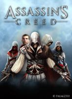 Assassin's Creed saga by freak by SimoneFerraroGD