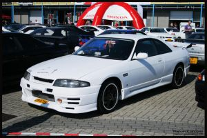 1994  Nissan Skyline R33 GTS-T by compaan-art