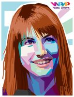 Hayley Williams in WPAP by ParaSadness