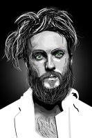 Edward Sharpe Vector Portrait by Smclachlan