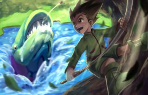 The Moment I Fell In Love with Gon by TheKiwiSlayer