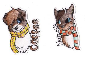 xSuicideNarocticx's Badges by Leaftooth